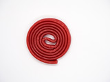 Red licorice isolated - 243296360