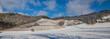 canvas print picture - Weinberge Reben im Winter