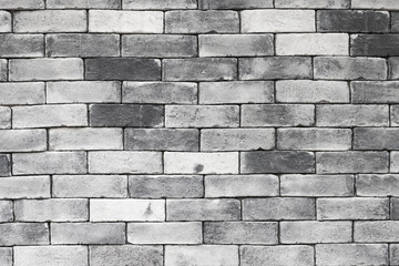 Wall background decorated with gray brick. © adisorn123