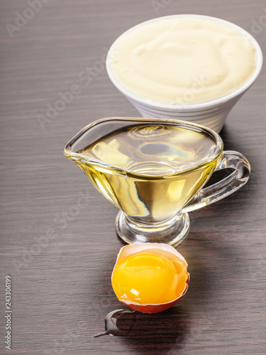 ingredients for making mayonnaise