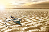 Boat on the dry ground - 243307568
