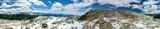 Panorama Natur Landschaft mit Alpen Gebirge