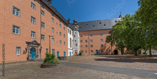 mata magnetyczna Schloss Hannoversch Münden