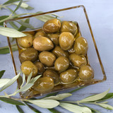 green olives in olive