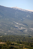 View of the Mont Ventoux in Provence, France