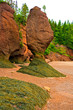 The Bay of Fundy in Canada  with the highest tides on earth is one of the natural wonders of the world