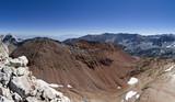 McGee Pass Peak Panorama To The Northeast