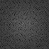 Seamless background with random black dotted elements. Abstract ornament. Dotted abstract pattern - 243374509