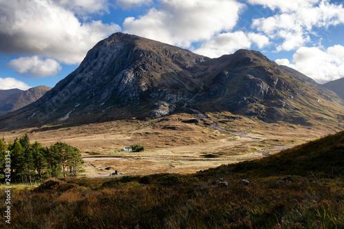 Scotland Highlands - Glencoe Mountains