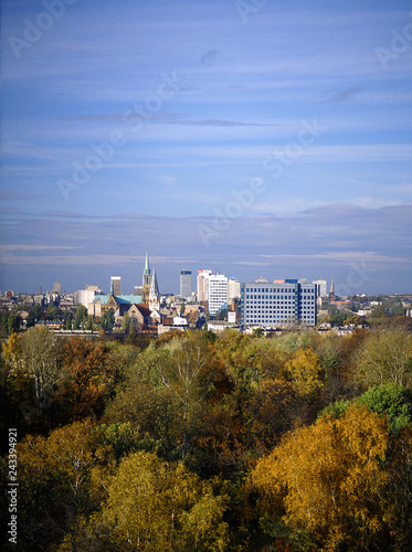 Lodz city, Poland
