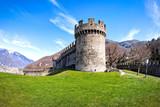 Castello di Montebello  in Bellinzona, Switzerland - 243395976