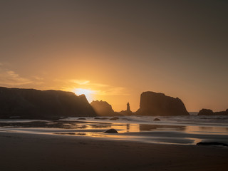 Coquille Point Sunset 3 © David
