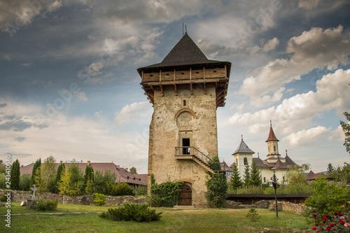 Wall mural Romania,Humor Monastery,2017,Tower of Vasile Lupu