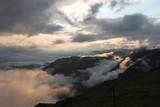 Wolken im Kaukasus