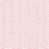 Seamless vector ornament. Modern background. Geometric modern dotted red and pink pattern - 243446567