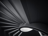 Spiral staircase Shade and shadow Modern Building Architecture detail - 243447732