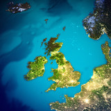 United Kingdom and Ireland map