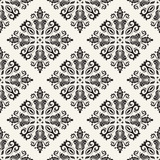 Classic seamless vector black and white pattern. Damask orient ornament. Classic vintage background. Orient ornament for fabric, wallpaper and packaging - 243448398