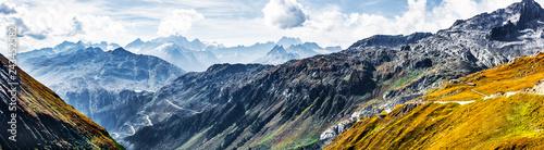 Leinwandbild Motiv Alpenpass
