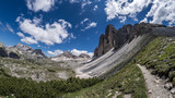 Path to the Tre Cime rocks