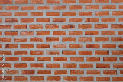 simple brick and concrete wall pattern for industrial and minimalism design - 243494362