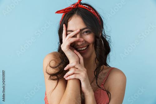 Lovely cheerful girl wearing summer clothes © Drobot Dean
