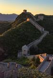 Great Wall of China at Sunset - 243502922