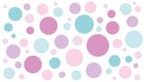 Hintergrund Punkte pastell