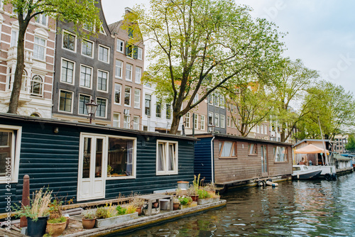 Foto Murales Floating house at Amsterdam