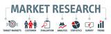 Banner Market research Vector Illustration - 243516940