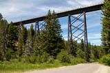 Railroad Bridge Montana USA
