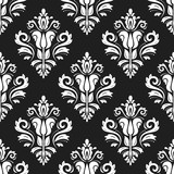 Orient classic pattern. Seamless abstract background with vintage elements. Orient black and white background - 243542749