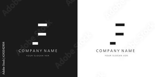 F logo letter design