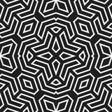Seamless background for your designs. Modern black and white ornament. Geometric abstract pattern - 243543170