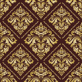 Orient classic golden pattern. Seamless abstract background with vintage elements. Orient background - 243543555