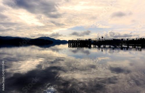 Morning on Loch Lomond, Scotland