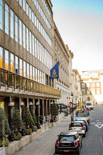A street near trafalgar square london