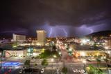 Monsoon Season Lightning in El Paso, Texas - 243559186