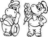 Hipopotamy na randce