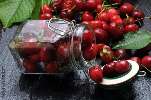Foto Murales Ciliege ft7105_9697 Cherries Cseresznye Kirschen češnje  كرز
