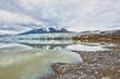 Quadro Llewellyn Gletscher in Atlin Kanada