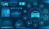 Hardware Diagnostics Condition of Car, Scanning, Test, Monitoring, Analysis, Verification - 243613111