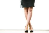 Unrecognizable woman wearing high heels - 243624528