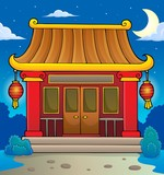 Chinese temple theme image 3 - 243640129