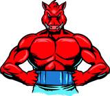 Boar muscle