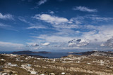 Cityscape of Santorini , Greece