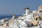 Cityscape of Oia, Santorini , Greece. - 243677397