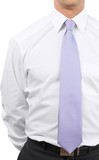 Close-up of Businessman Shirts with Tie  - Isolated - 243688543