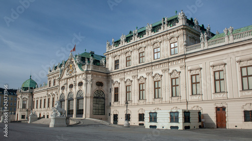 Wall mural Wien Belvedere