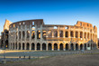 Quadro The Colosseum in Rome at sunrise, Italy